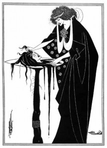 The Dancer's Reward, by Aubrey Beardsley