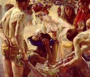 Salome Receiving the Head of St. John the Baptist, by Lovis Corinth