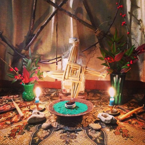 Brigid Imbolc Shrine